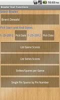 Screenshot of Good Bowler Stats