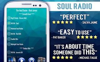 Screenshot of Free Soul Radio