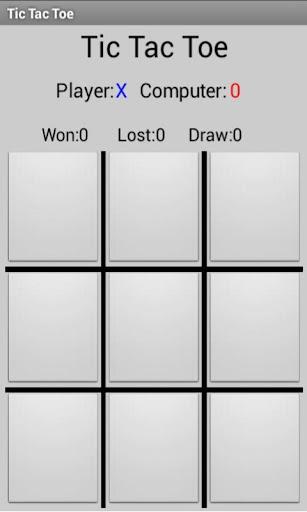 免費下載棋類遊戲APP|井字遊戲AI免費 app開箱文|APP開箱王
