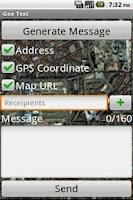 Screenshot of Geo Text