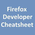 Free Firefox Developer Cheatsheet APK for Windows 8