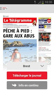 Le Télégramme - Journal- screenshot thumbnail