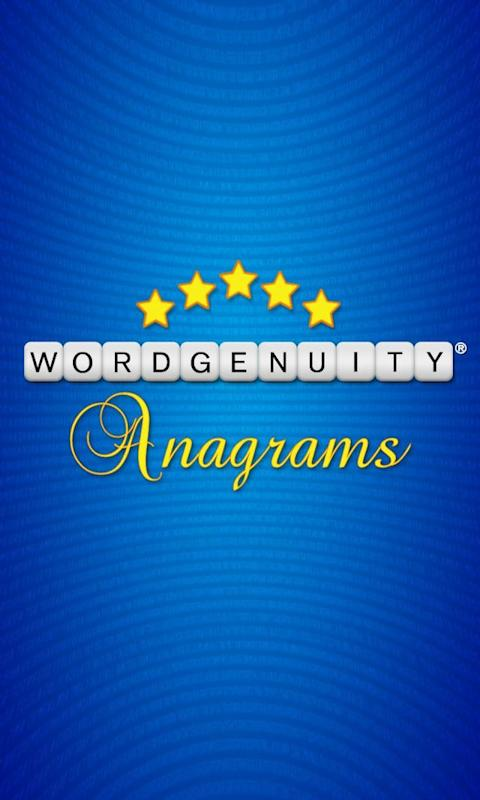 Wordgenuity® Anagrams Lite- screenshot