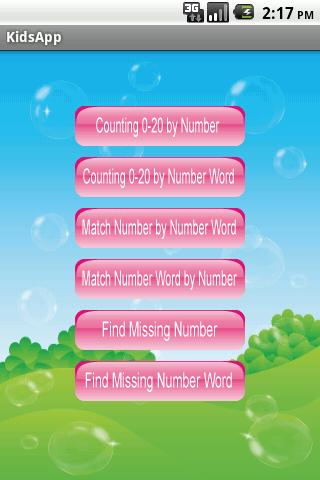 Numbers for Kids - screenshot