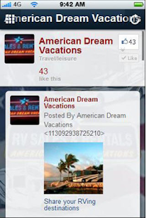 American Dream Vacations- screenshot thumbnail