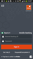 Screenshot of GTBank
