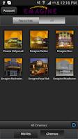 Screenshot of Emagine Theatres