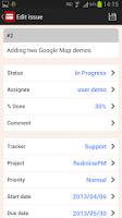 Screenshot of RedminePM - Redmine Client App