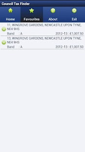 Council Tax Finder App - screenshot thumbnail