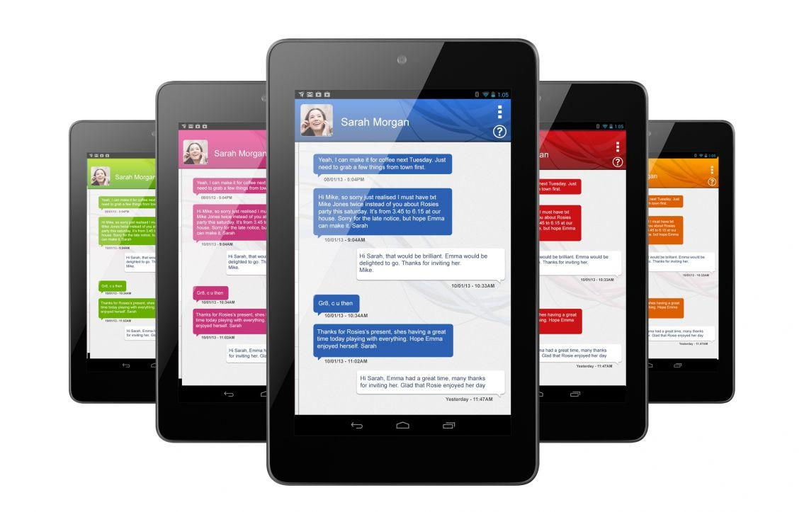 Tablet SMS Messaging Dinamotxt- screenshot