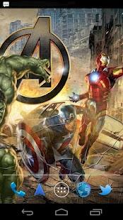 The Avengers Live Wallpaper - screenshot thumbnail
