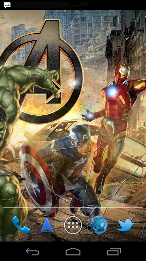 The Avengers Live Wallpaper - screenshot