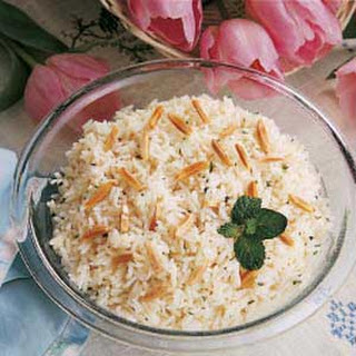 Minted Rice Casserole.