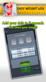 Easy Weight: Tracker & Manager- screenshot thumbnail