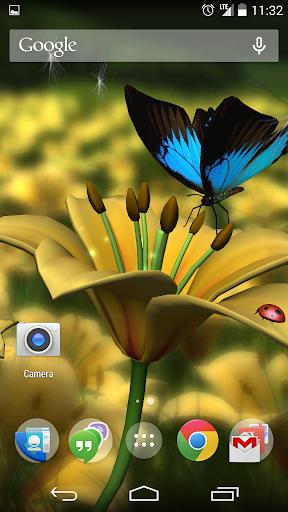 Lily HD 3D Live Wallpaper