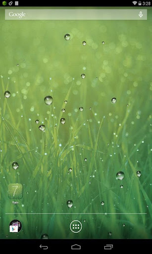 雨滴动态壁纸 Rain
