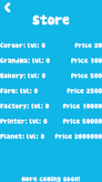 Screenshot of Cookie Clicker Pixel