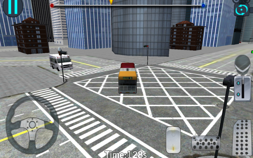 City Bus Driving 3D Simulator- screenshot