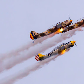 by Adrian Ioan Ciulea - News & Events Entertainment ( flight, sky, events, show, planes, fire, entertainment, air show, aircraft, helicoptors,  )