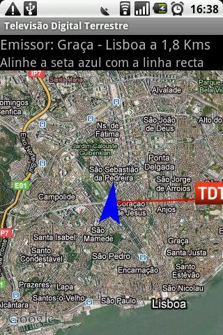 mapa de emissores tdt portugal Mapa de emissores tdt para android mapa de emissores tdt portugal