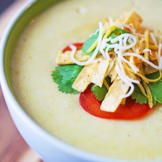 Green Enchilada Soup