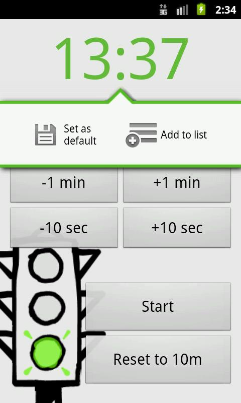Yata! Yet Another Timer App- screenshot