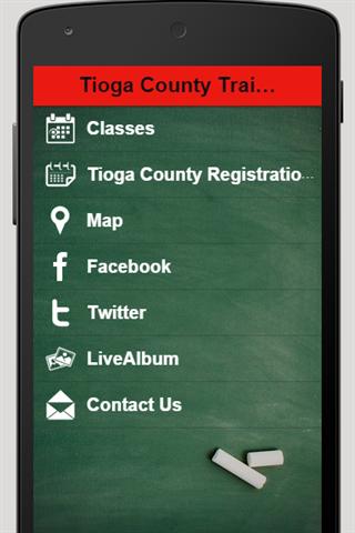Tioga County Training