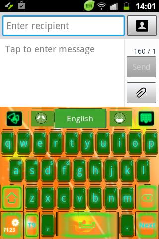 GO鍵盤綠色 功率