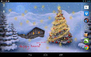 Screenshot of Christmas Live Wallpaper