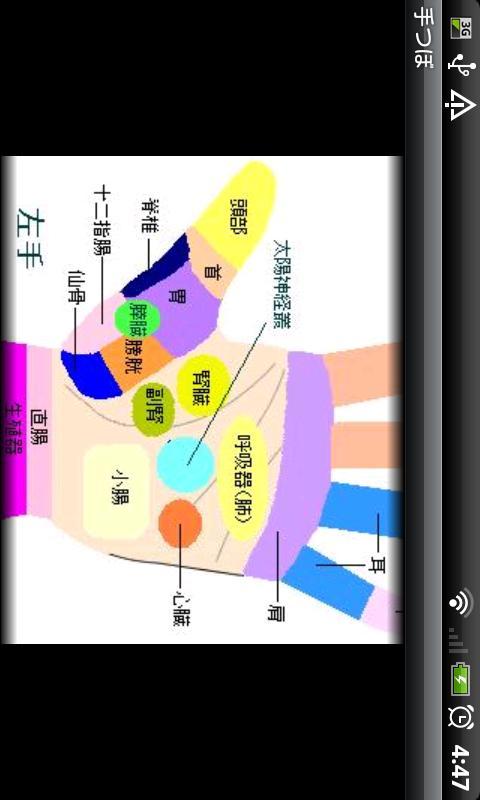 Hand Reflexology- screenshot