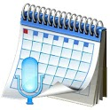 Vocal Voice Calendar icon