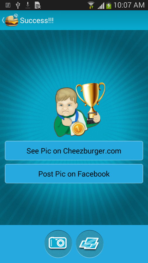Cheezburger - screenshot