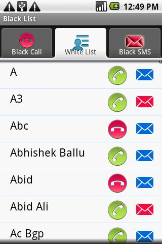 Call Blocker X Block Calls SMS - screenshot