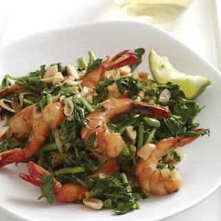 Vietnamese-Style Shrimp and Watercress Stir-Fry.