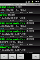 Screenshot of RFinder Worldwide Repeater Dir