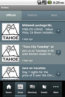 Lake Tahoe Official - screenshot thumbnail