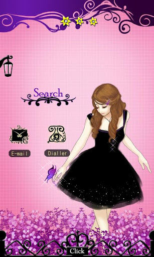 CUKI Theme Violet Secret Garde