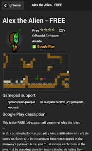 Gamepad Games- screenshot thumbnail