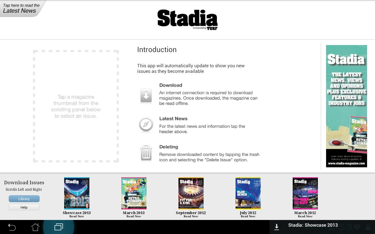 Stadia Magazine- screenshot