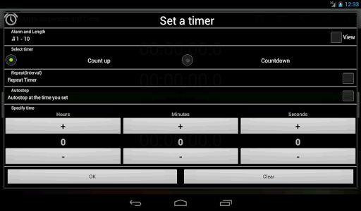 Multi Stopwatch & Timer  free screenshot 16