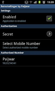 Remote Ringer (FREE) - Paijwar- screenshot thumbnail