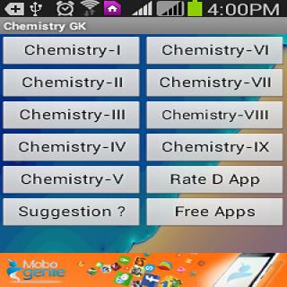Science - Chemistry GK