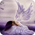 3D Angel background icon