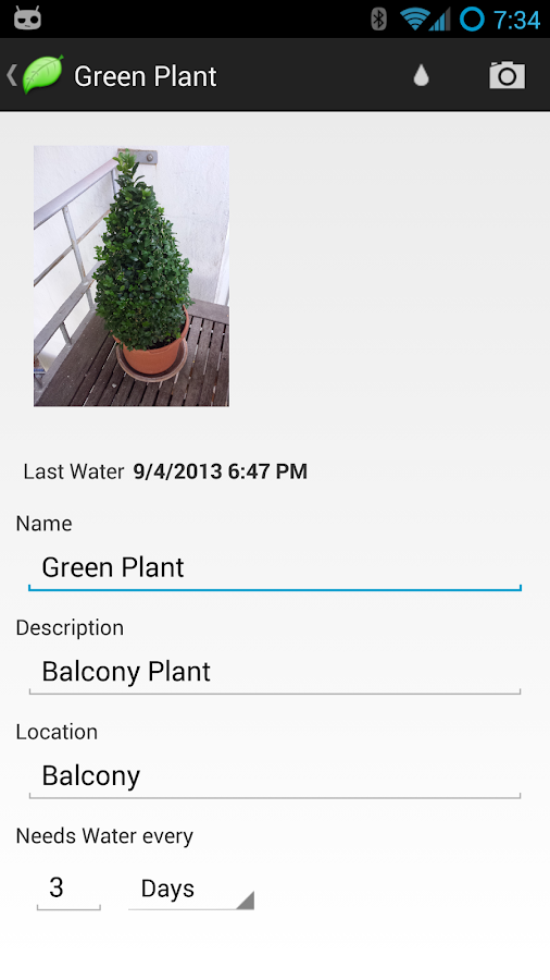PlantFriend - screenshot