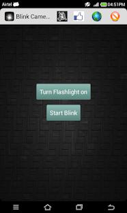 闪亮相机LED灯手电筒