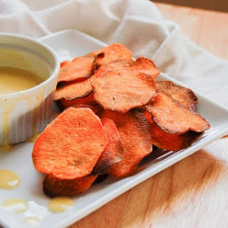 Sweet Potato Chips - Home Made!