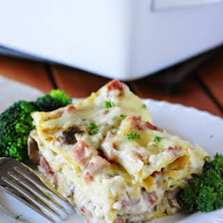 Ham & Cheese Lasagna.