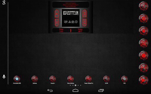 【免費個人化App】AndroPlayer Zooper Widget Pack-APP點子