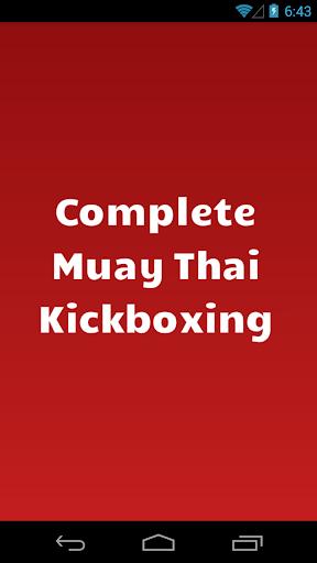 Complete Muay Thai Kickboxing