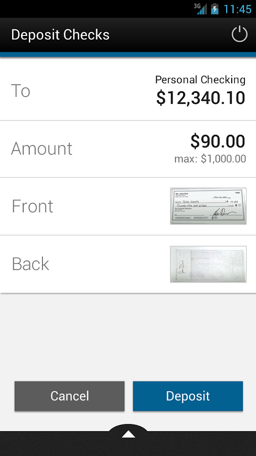 Pittsford FCU Mobile Banking - screenshot